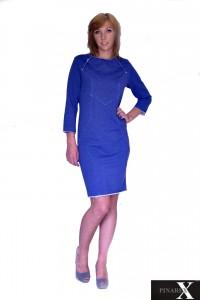 Sukienka dresowa z aplikacją